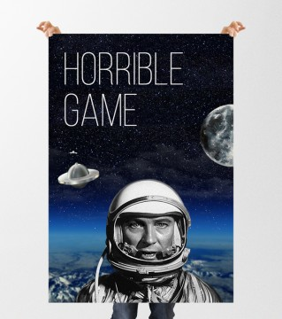 Horrible game poster