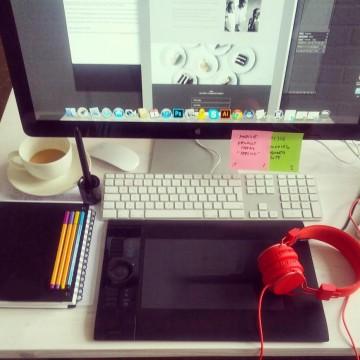 Ingos darbo stalas