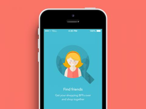 Find Friends iPhone