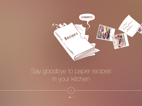 Touchless-recipe-app